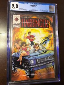 Harbinger 1 CGC 9.8 With Coupon White Pages Great Case Only 294 9.8s exist