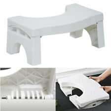Portable Foldable Toilet Squat Step Stool Bathroom Potty Squat Aid Feet Support