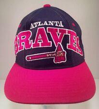 Vintage Atlanta Braves Embroidered Big Logo Starter Snapback Hat