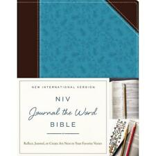 Journal The Word NIV Bible - Softcover Chocolate & Turquoise