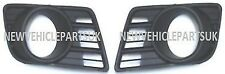 SUZUKI SWIFT 2008-2010 FRONT BUMPER FOG GRILLE WITH LAMP HOLE PAIR LEFT & RIGHT