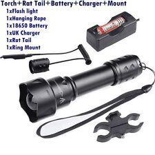 T20 3Modes Led Hunting Light NV Night vision Torch Osram 850NM IR+18650 Battery