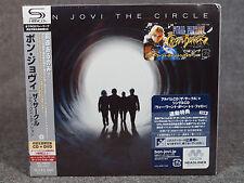 BON JOVI / THE CIRCLE SHM-CD DVD UICL-9080 Paper Sleeve Jacket Obi Japan