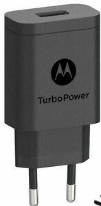 Genuine Motorola TurboPower Charger Adapter SC52 2 pin EU 3A 15W