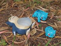 Snorlax planter pot pokemon hand painted