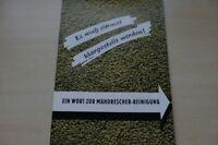 199213) Claas - Mähdrescher Reinigung - Prospekt 1954
