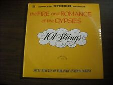 101 STRINGS - THE FIRE AND ROMANCE OF THE GYPSIES - 2 LP SET - NEW - ALSHIRE