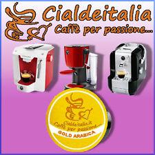 70 capsule caffè Cialdeitalia GOLD ARABICA 100% compatibile A MODO MIO