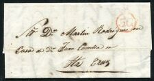 1855 Spain Canary Islands Stamples cover
