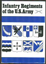 INFANTRY REGIMENTS OF THE U.S. ARMY.  by James Sawicki -  DI reference book