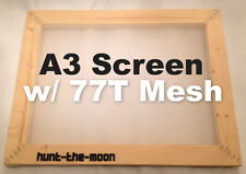 MEGA DEAL! A3 Screen Printing Frame with mesh upgrade- 77T for the price of 43T!