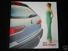 Prospekt Alfa Romeo 156 Sportwagon v. 09/00, 24 Seiten