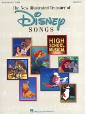 The New Illustrated Treasury of Disney Songs Book PVG