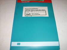 Werkstatthandbuch Audi 100 Typ 44 Mono Jetronic ,ab 83