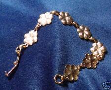 "Flower Posie Gold Bracelet (7) Pads 6"" (pkg 3) 0765"