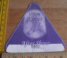 Gipsy Kings 1990s After Show concert Tour Guest all areas backstage pass sticker