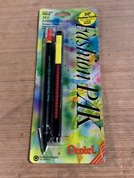 Vintage Fashion Pak Sharplet .5mm Pencil And Clic Eraser AZ21BP Yellow And Red