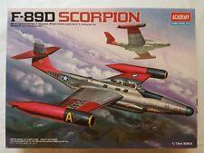 Academy 12403 F-89 D Scorpion 1:72 Neu, Bauteile versiegelt