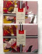 BNWT Joules OXFORD PILLOWCASES  x 2 HERITAGE PEONY. BRAND NEW IN PACKAGING