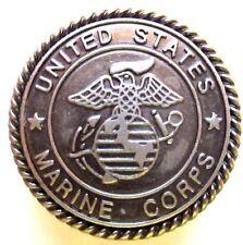 United States Marine Corps Eagle Globe and Anchor Concho Medallion Set of 2