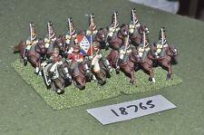 25mm Francese Napoleonico Dragoni 12 CAVALLERIA {10} (18765)