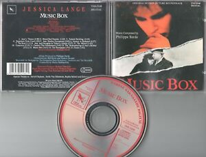 Music Box  CD-SOUNDTRACK   ©  1989  MUSIC BY PHILIPPE SARDE