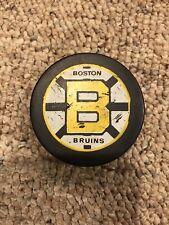 Boston Bruins Vintage Blank Back Canada Puck!