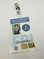Criminal Minds ID Badge - Spencer Reid costume prop cosplay