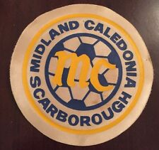 1980's Midland Caledonia MC Scarborough Ontario Soccer Patch