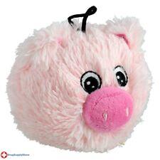 "RA EZ Squeaky Plush Toy - Pig - 4"""