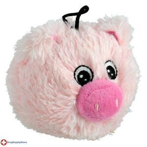 RA EZ Squeaky Plush Toy - Pig - 4""