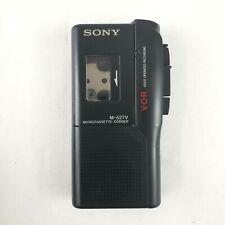 Sony Pressman Microcassette Recorder M-527V VOR Black Handheld