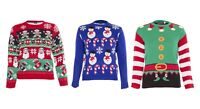 Kids Boys Girls 3D Christmas Jumper Xmas Sweatshirt Novelty Knitted Pullover Top
