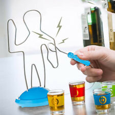 BUZZ WIRE DRINKING PARTY GAME ADULT NOVELTY SHOT GLASSES GIFT FUN XMAS PUB NEW