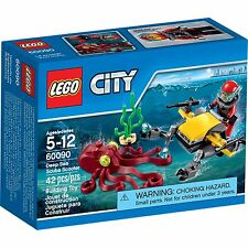 Lego City Deep Sea Scuba Shooter with Mini Figure 42 pcs NIB Ages 5-12
