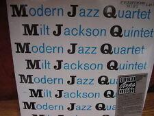 MODERN JAZZ QUARTET MJQ MILT JACKSON 1984 LIMITED EDITION STICKER SERIES RARE LP