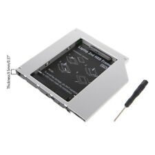 HOT Universal 9.5mm PATA IDE to 2nd SATA HDD Hard Drive Disk Caddy Module
