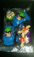 LOT OF 5 TOYS FROM BOBBY'S WORLD - 1994 MCDONALD'S HAPPY MEALS SET CARTOON COOL