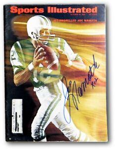 Joe Namath Autographed Sports Illustrated Magazine 10/17/66 Jets JSA V68002
