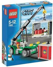 CONTAINER STACKER, Lego City: Cargo 7992, NEW in Sealed Box w/ Construction fig