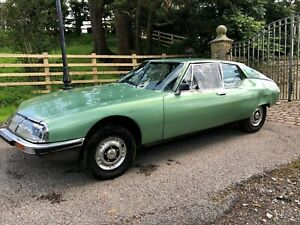 1972 Citroen SM Maserati,selling for spares, accident damaged, drives, rare car
