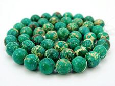 Natural Sea Sediment Jasper Gemstone Round Beads 15.5'' 4mm 6mm 8mm 10mm 12mm