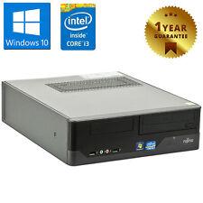 PC COMPUTER DESKTOP RICONDIZIONATO FUJITSU E400 CORE i3 4GB 250GB WINDOWS 10 PRO