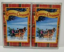 Set of 2 Time Life Classic Cassettes Country Christmas Part 1 and 2 NEW SEALED