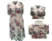 Women YOURS Floral Long Maxi Dress Evening Party Beach Summer Dress size 16-32