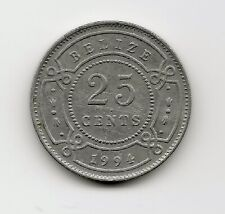 World Coins - Belize 25 Cents 1994 Coin KM# 36 ; Lot-B2