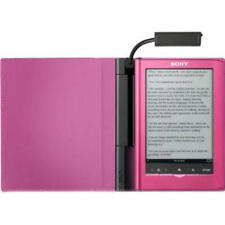 Book Cover For Sony e-book Reader PRSA-CL35-P Official Light Pink With Light