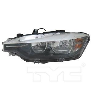 For 2016-2017 BMW 320i 328i 330i 335i Halogen Headlight Left Side