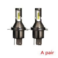 2x H4/9003 Bi-Xenon Hi/Lo Beam Headlight Conversion Kit 55W 13000LM LED Bulbs