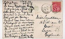 BAY PIER, HAMILTON: Ontario Canada postcard with WINONA postmark (C32772)